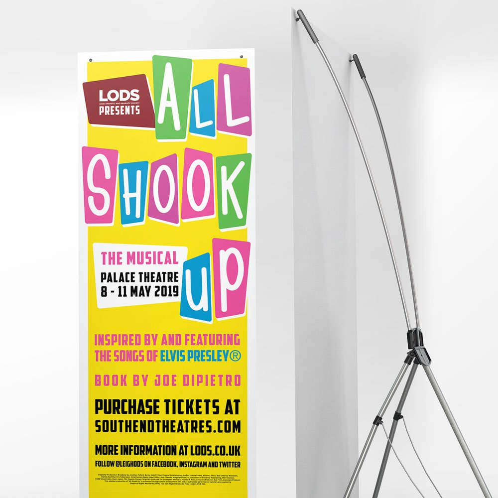 how to promote theatre productions flyer banner