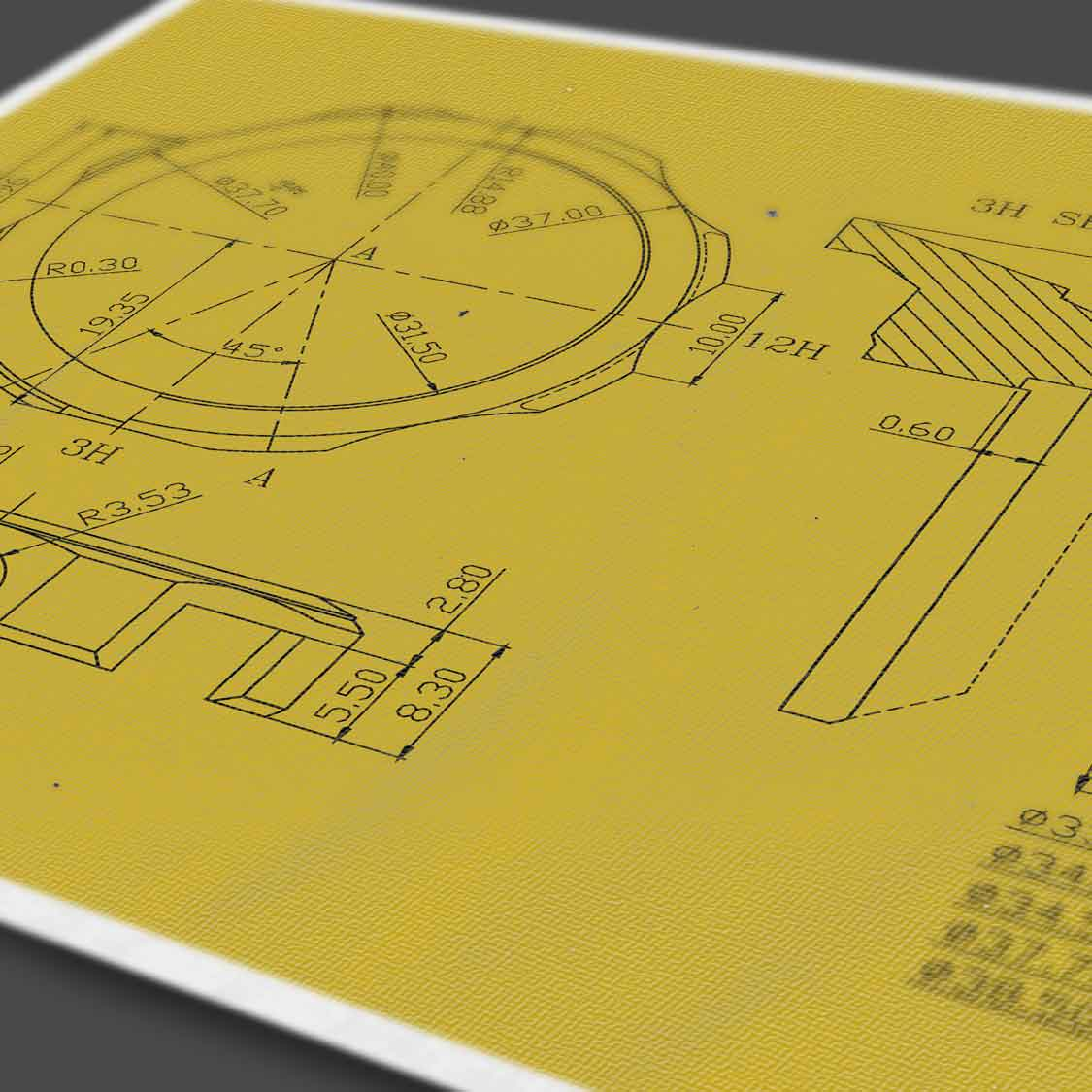 watch designers essex author studios technical drawings